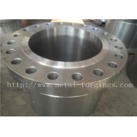 Buy cheap ASME B16.5 Standard WN BL RF Carbon Steel  and Stainless Steel Flange Finish Maching product