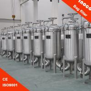 BOCIN Vertical Multi-bag Filter Housing For Liquid Filtration / Water Purifier