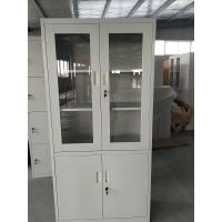 Buy cheap Multi-functional office used  Used Steel Storage Cupboard file Cabinet light gray product