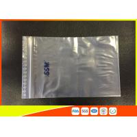 Buy cheap OEM Resealable Clear PE Zip Lock Plastic Bags And Top Lip With Eco - Mark product