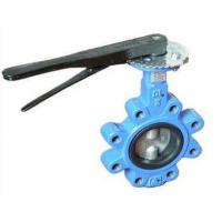 China DN 100 PN 16 water butterfly valves SS Body By Lever Operated And Seat is EPDM on sale