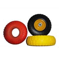 "Buy cheap Low Temperature Resistance 7.5x2"" PU Foam Wheels For Wheelchair product"