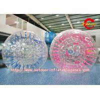 Buy cheap Giant Clear Adult Water Zorbing Ball Custom Football Inflatable Body Zorb Ball product