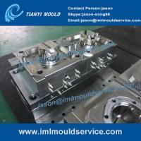 Buy cheap producing plastic Sweet Packaging Containers mould, 500ml iml label container molding product