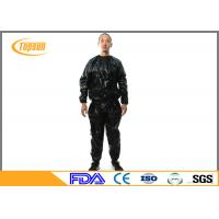 Buy cheap Transparent PE Sauna Suit To Lose Weight , Disposable Sweating Suits For Workouts product