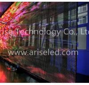Buy cheap LED curtain Sign LED mesh displays P16 P20 P25 P31.25 P37.5 product