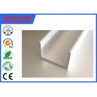 Buy cheap Aluminium U Channel Extrusion , Home Decoration / Window Guide Rail Structural Aluminum Channel product