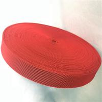 Buy cheap Outdoor Furniture Cover Type Elastic Upholstery Webbing in red color product