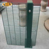 China High security 358 security fence, pvc coated clearvu anti climb fence on sale