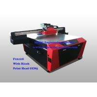 Buy cheap Multi Colour Digital Glass Printing Machine For Office / Home Decoration product