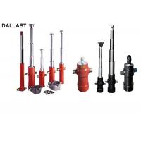 Buy cheap Stainless Steel Telescopic Custom Hydraulic Cylinder for Dump Truck product