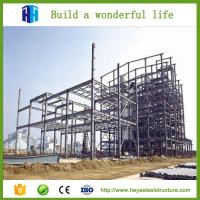 China typhoon protection prefab steel building construction project on sale