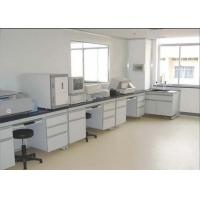 Safety Chemistry Lab Furniture 16 Mm MDF With Melamine Board With PVC Handle