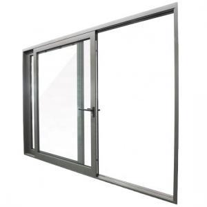 Buy cheap Waterproof Aluminium Two/Three Track Sliding Windows Narrow Side Anodized With Subhead Subsills product