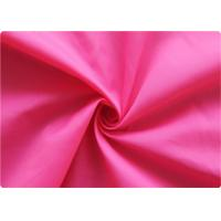 Buy cheap Professional pink Polyester Elastane Fabric Garment Cloth 210-270GSM product