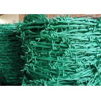 Buy cheap RAL Colors Barbed Wire Mesh Fencing For Boundary / Railway , Anti Corrosion product