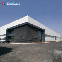 Buy cheap Prefab Modular Light Steel Structure Workshop Building with C Purlin product