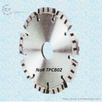 Buy cheap Diamond Turbo Tuck Point Cutting Blade for Granite and Concrete Engroove - TPCB02 product