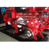 Buy cheap 1500GPM @ 150PSI UL/FM Approval Diesel Engine Drive Fire Pump With Horizontal Centrifugal Split case Fire Pump product