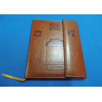 Buy cheap offset Leather Bound Book Printing product