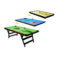 Buy cheap 3 in 1 pool table product