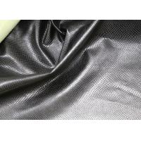 China Fashion High Grade PU Leather Fabric For Handbags No Fading Hydrolysis Resistance on sale