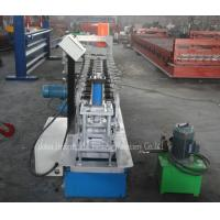 Buy cheap Aluminum Shutter Roll Forming Machine , Hydraulic Pump Sheet Metal Forming Machine product