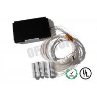 Buy cheap 1X32  1310 / 1490 / 1550 nm Fiber Optic Single Mode Fbt Coupler LC / UPC   Φ 0.9 0.5 m white product