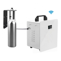 Buy cheap Black Metal Scent Diffuser Machine For Large Area / Hotel Air Freshener Systems product