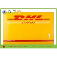 Buy cheap DHL Printed Poly Mailing Bags 250gsm Whiteboard Express Bags Puncture Resistant product