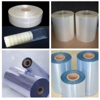 China Heat MoistureProof Pvc Shrink Film Rolls For Packaging / Printing on sale