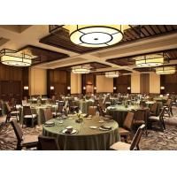 Buy cheap High Class Commercial Restaurant Furniture Round Dining Table And 8 Chairs Set product