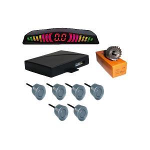 Buy cheap 6 продуктов электроники автомобиля датчика стоянкы автомобилей дисплея пробки цифров системы датчиков водить радугой product