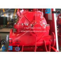 Buy cheap Single Stage Double Suction Centrifugal Fire Pump 288 Feet With Water Cooling Method product