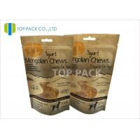 Buy cheap Snack Food Paper 3.5oz Stand Up Zipper Packaging Waterproof Free Shape Window product