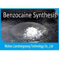 China CAS No 94-09-7 Benzocaine Topical Pain Reliever Microcrystalline Powder wholesale