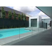 Buy cheap 12mm toughened glass balustrading glass pool fencing approved by AS/NZS 2208 product