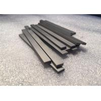 Buy cheap Tungsten Carbide Bars / Strips For Metal Cutting , With 45 Degree Angle Surface product