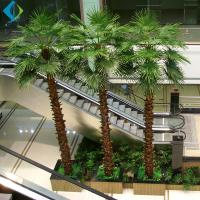 Buy cheap Artificial Decorative Palm Trees Herringbone Type Eco - Friendly Easy Moving product