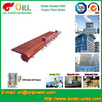 Buy cheap Electrical CFB Boiler Header / Water Header With Natural Circulation product