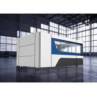 Buy cheap 500w IPG Fiber Laser Cutting Machine 1500x3000mm for Stainless steel product