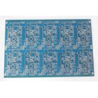 Buy cheap Double Sided FR4 Electronic Printed Circuit Board Blue Soldmask HASL Lead Free product