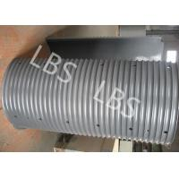Buy cheap Lifting Machinery Lebus Grooved Drum LeBus Grooving System 40GrMo 42GrMo product