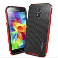 China Spigen SPG Slim Armor Case Dual Layer Protective Case For Samsung Galaxy S5 Cover on sale