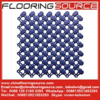 China Wet Area Matting Tiles Interlock pvc tiles keep wet areas clean and safe on sale