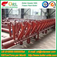 Buy cheap Plant CFB Boiler Heating Power Chemical Oil Chemical Industry 240 MW Boiler Header SGS product