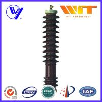 51KV 10KA Porcelain Housed Surge Arrester Transmission Line Lightning Protection