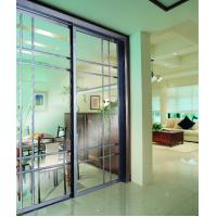 Buy cheap CY818E-809 Soundproof Partition Sliding Doors With Grass, Internal Aluminum Metal Room Dividers Factory product
