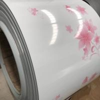 Buy cheap Energy Efficient Prepainted Steel Coil Weight ≤8T With PE Coating Pattern Printing product