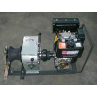 High Speed 3 Ton Diesel Engine Winch / Hoist Capstan Rope Winch